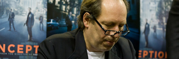 Hans Zimmer at the Inception Soundtrack Signing in July