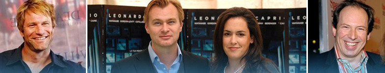 Interview Round-Up with Christopher Nolan, Aaron Eckhart, Emma Thomas, and Hans Zimmer.