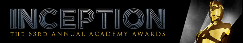 Inception and 83rd Annual Academy Awards