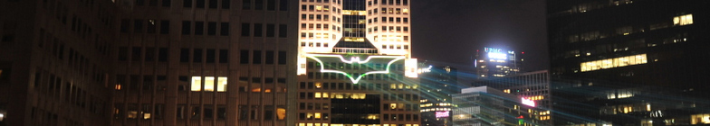 The Dark Knight Rises in Pittsburgh