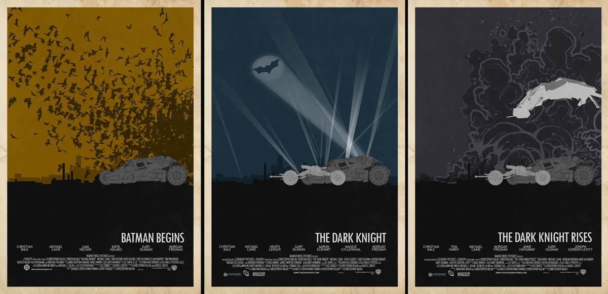 Batman Trilogy by Edgar Ascensao