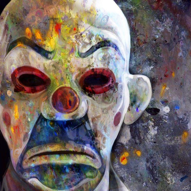 Joker Rainbow Portrait