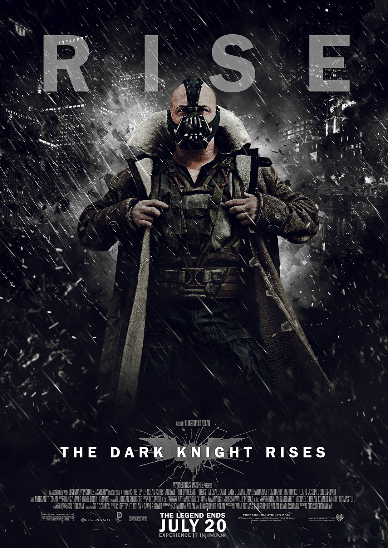 how long is the dark knight rises