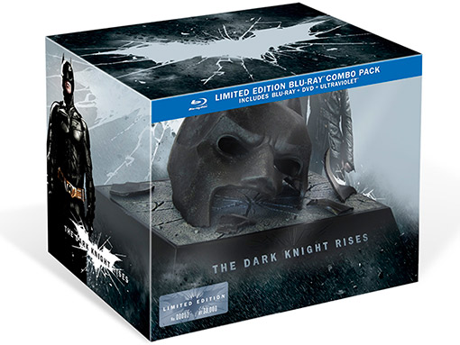 The Dark Knight Rises Blu-ray Combo Pack