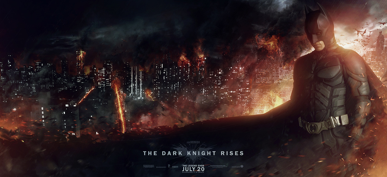 The Dark Knight Rises Banner by Sysmatic