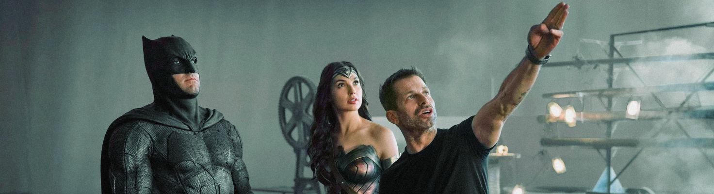 Zack Snyder directors Batman and Wonder Woman
